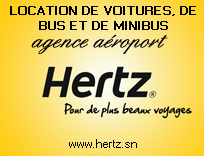 Hertz car rental Senegal