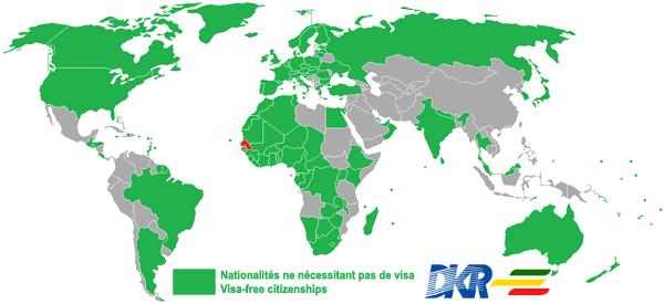 Visas Et Conditions D Entree Au Senegal